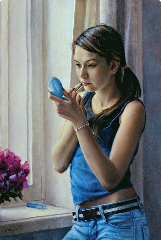 نقاشیهای نابغه 13 ساله - Bitrin.com
